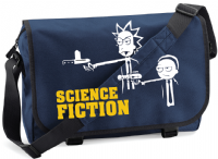 SCIENCE FICTION M/BAG - INSPIRED BY RICK AND MORTY PULP FICTION